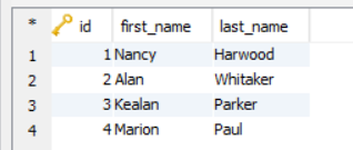 Python Select Data Table in SQLite Database